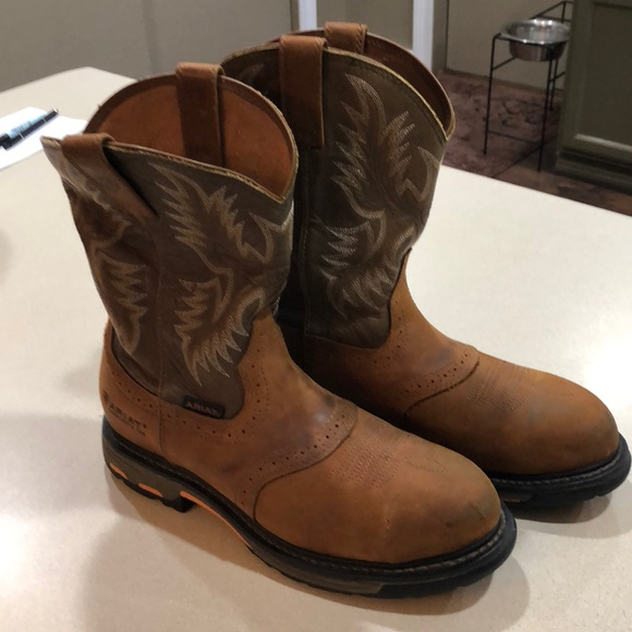 167d21342e7 Ariat Workhog Steel Toe Boots Size 11